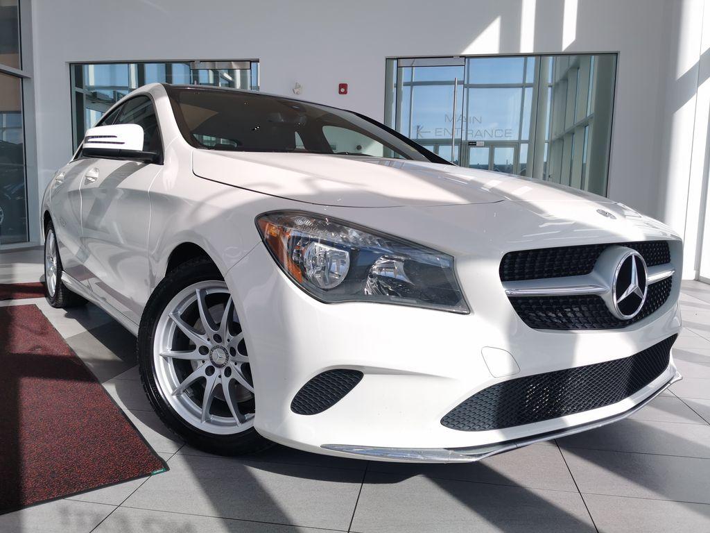 White[Calcite White] 2017 Mercedes-Benz CLA