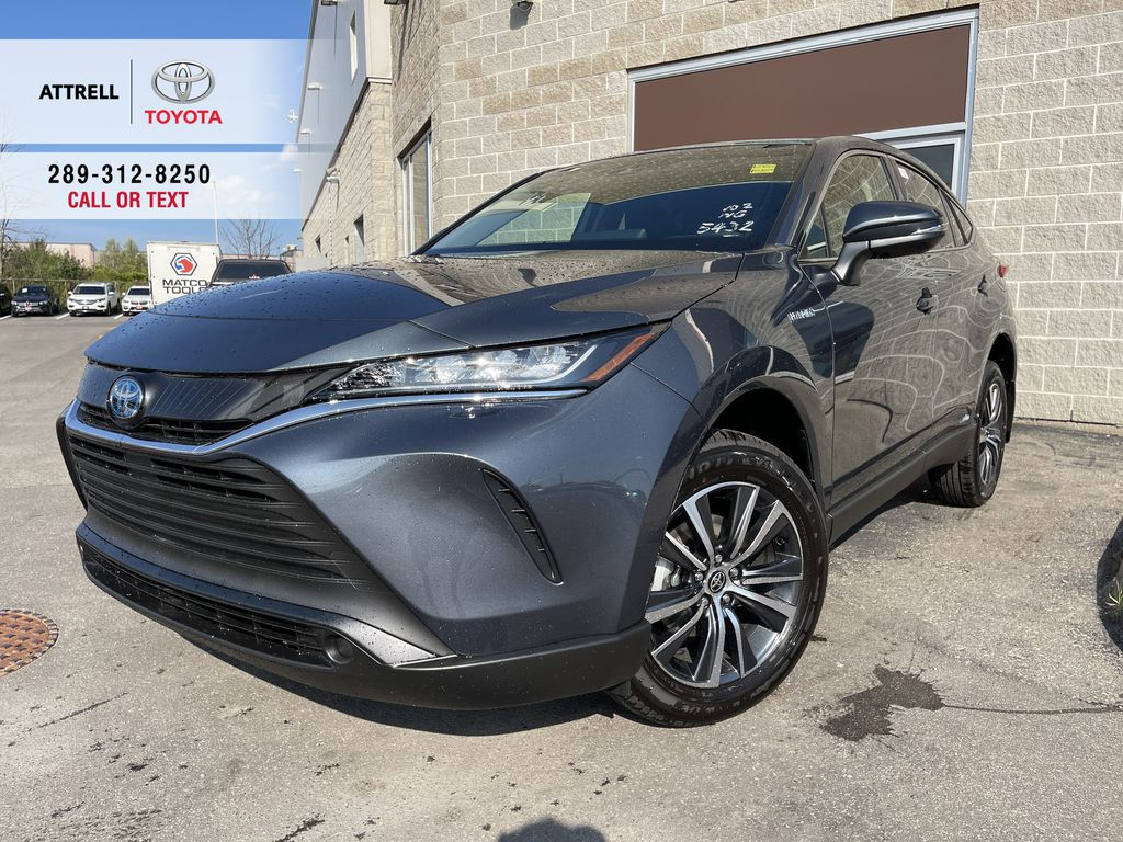 Gray[Coastal Gray Metallic] 2021 Toyota Venza AWD LE Package AVENAC AM