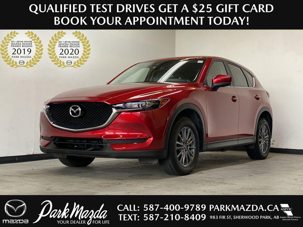 SOUL RED CRYSTAL METALLIC 2017 Mazda CX-5 GS AWD - Remote Start, Bluetooth, Backup Camera