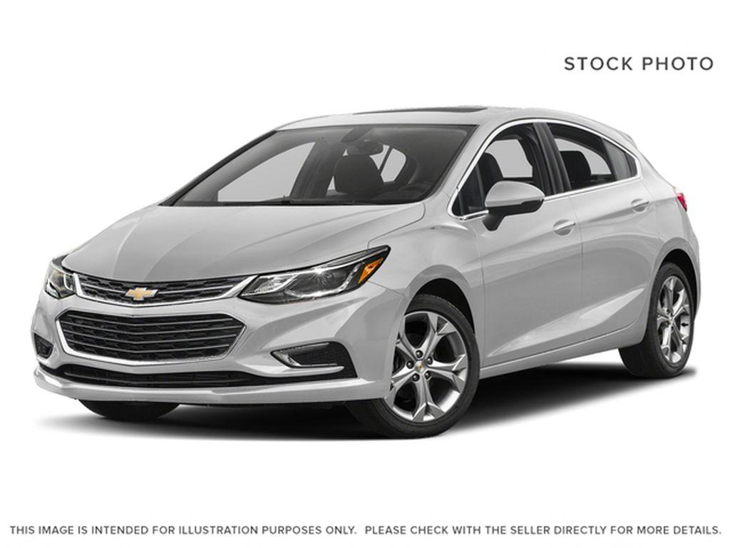 Silver[Silver Ice Metallic] 2018 Chevrolet Cruze Premier