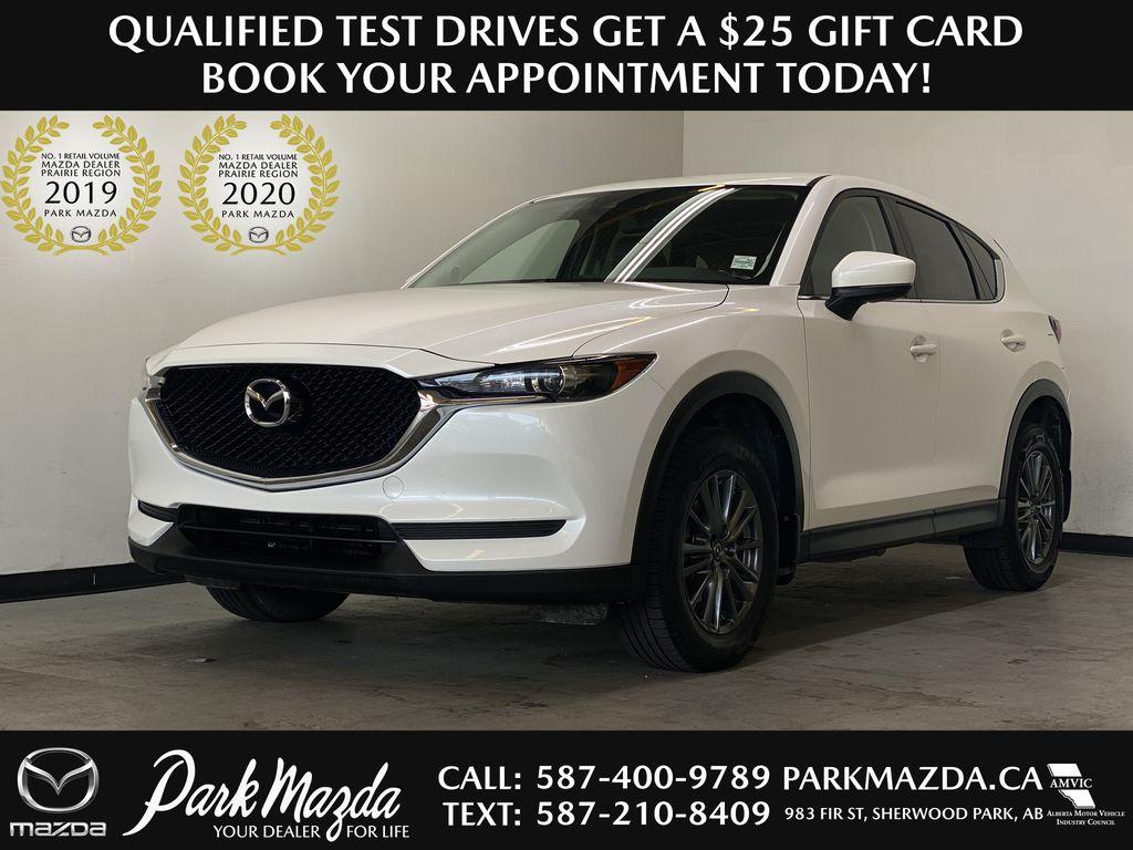 WHITE 2017 Mazda CX-5 GS AWD - Remote Start, Backup Camera, Bluetooth