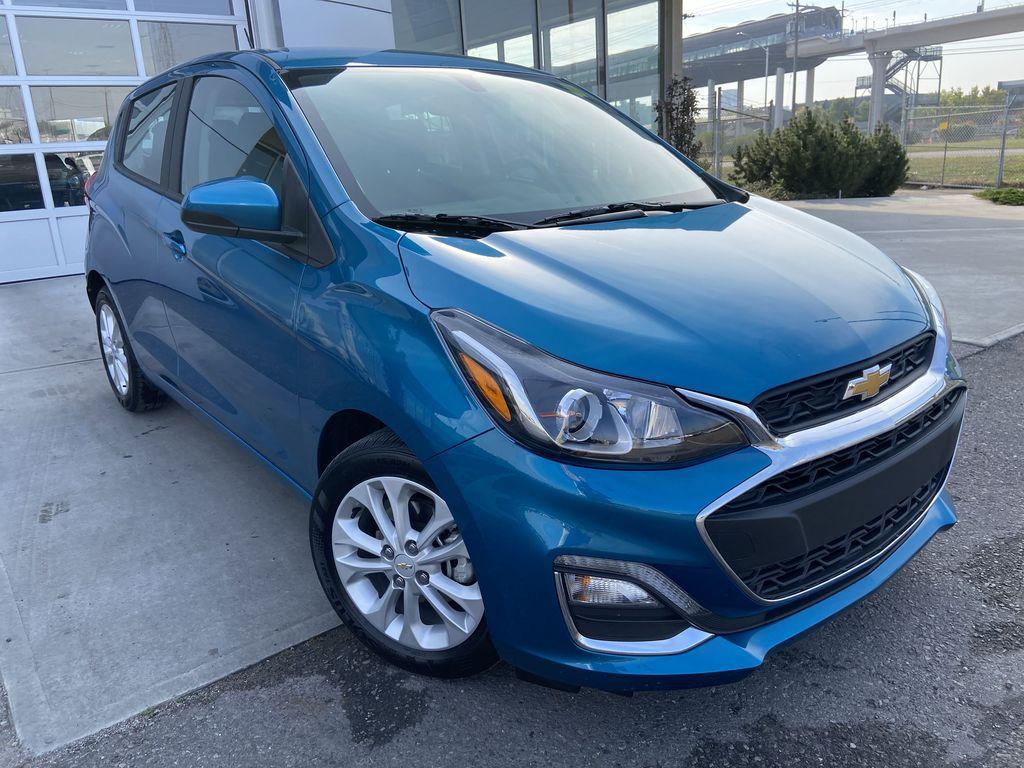 Blue[Caribbean Blue Metallic] 2019 Chevrolet Spark LT