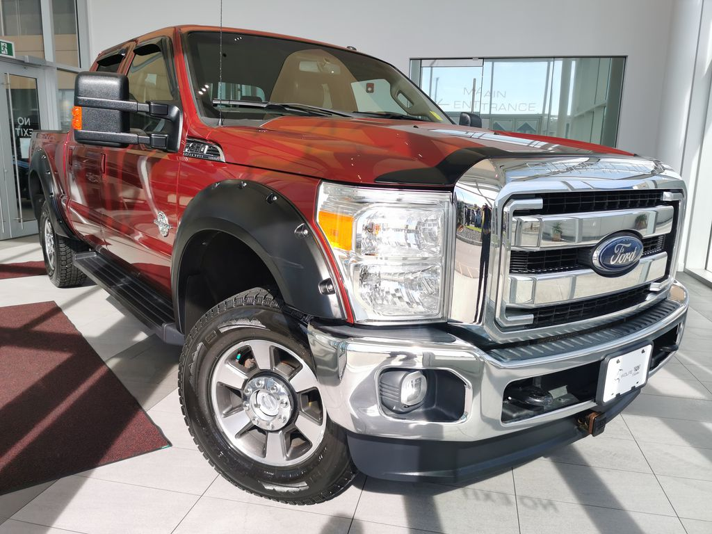 Red[Race Red] 2016 Ford Super Duty F-350 SRW
