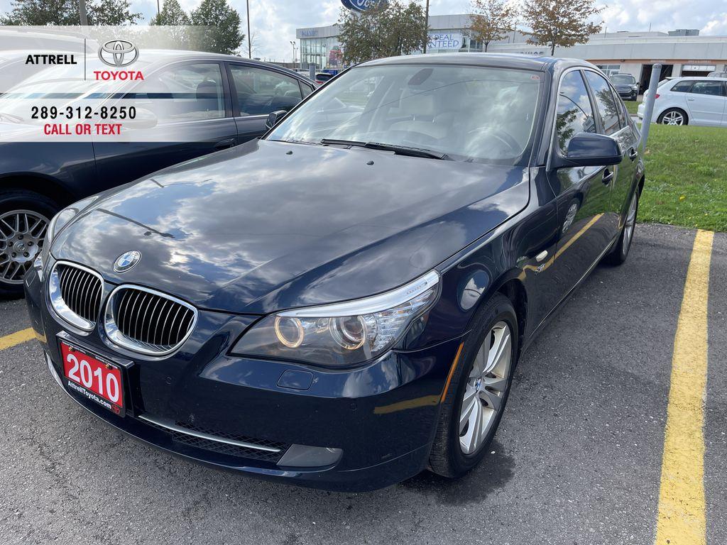 Black[Black Sapphire Metallic] 2010 BMW 5 Series clean