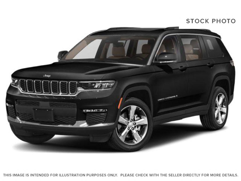 Black[Diamond Black Crystal Pearl] 2021 Jeep Grand Cherokee L