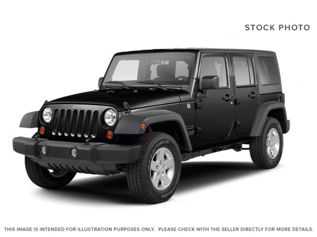 Black[Black] 2012 Jeep Wrangler Unlimited