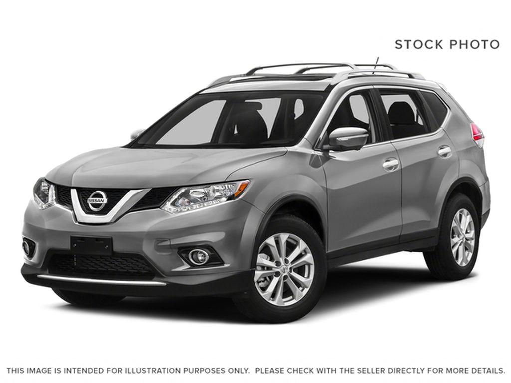 Silver[Brilliant Silver Metallic] 2016 Nissan Rogue