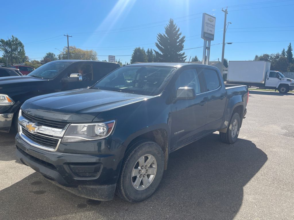 Gray[GBV,Cyber Grey Metallic] 2017 Chevrolet Colorado 4WD WT