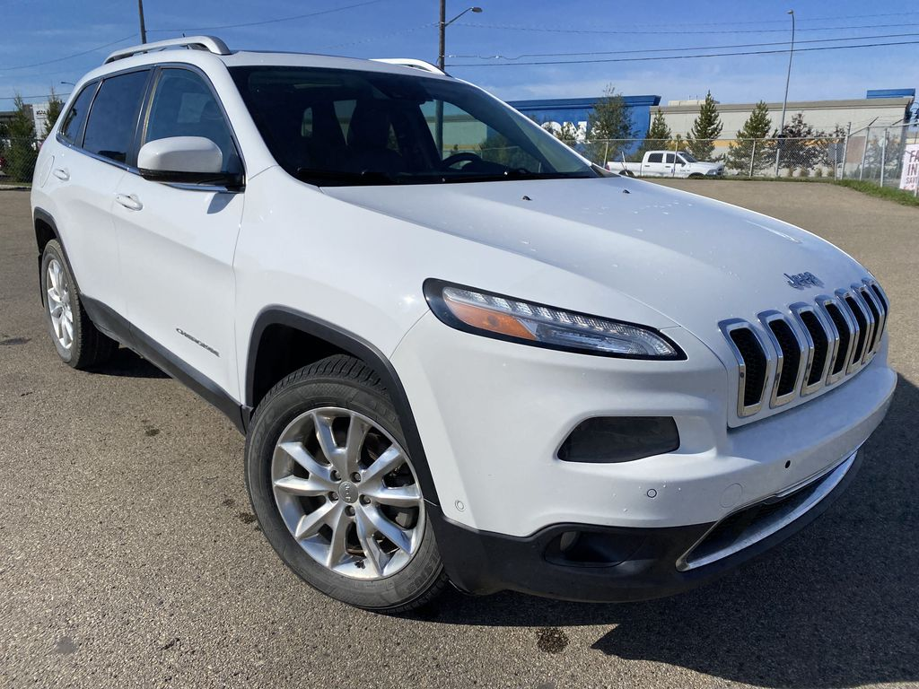 White[Bright White Clearcoat] 2014 Jeep Cherokee