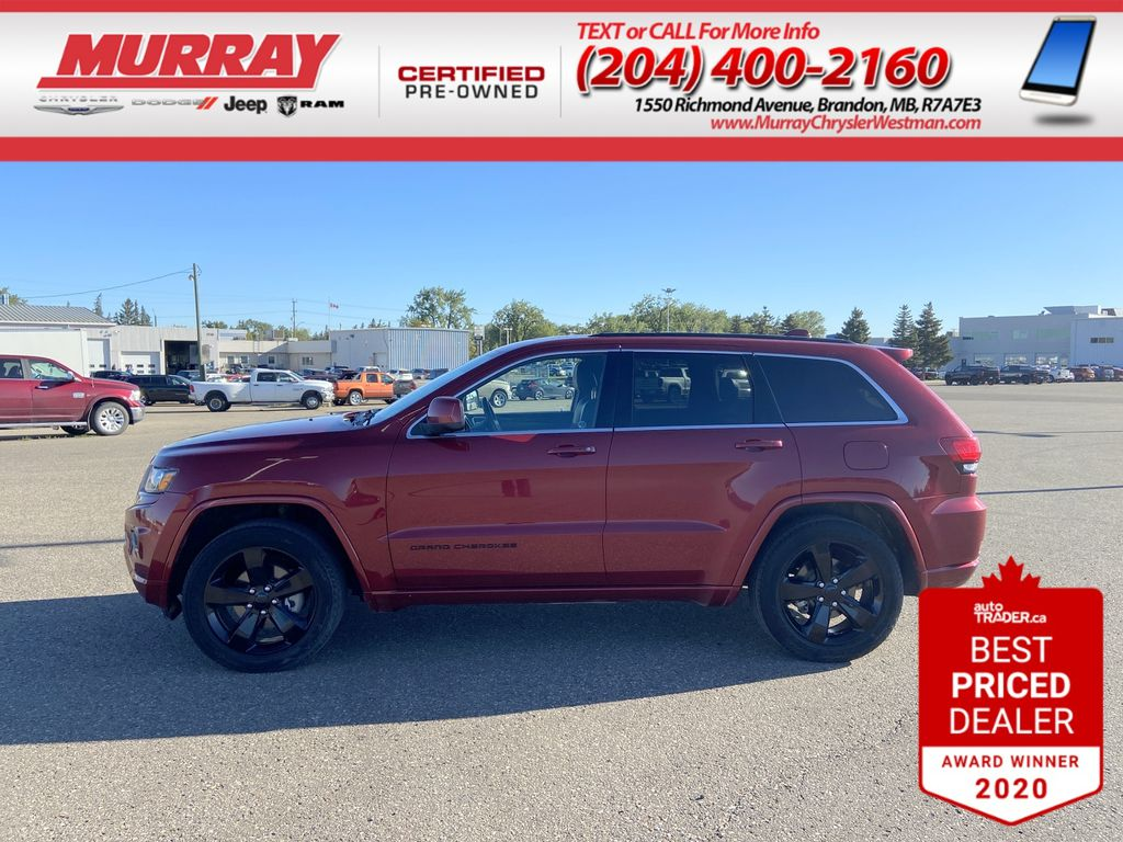 Red[Deep Cherry Red Crystal Pearl] 2015 Jeep Grand Cherokee