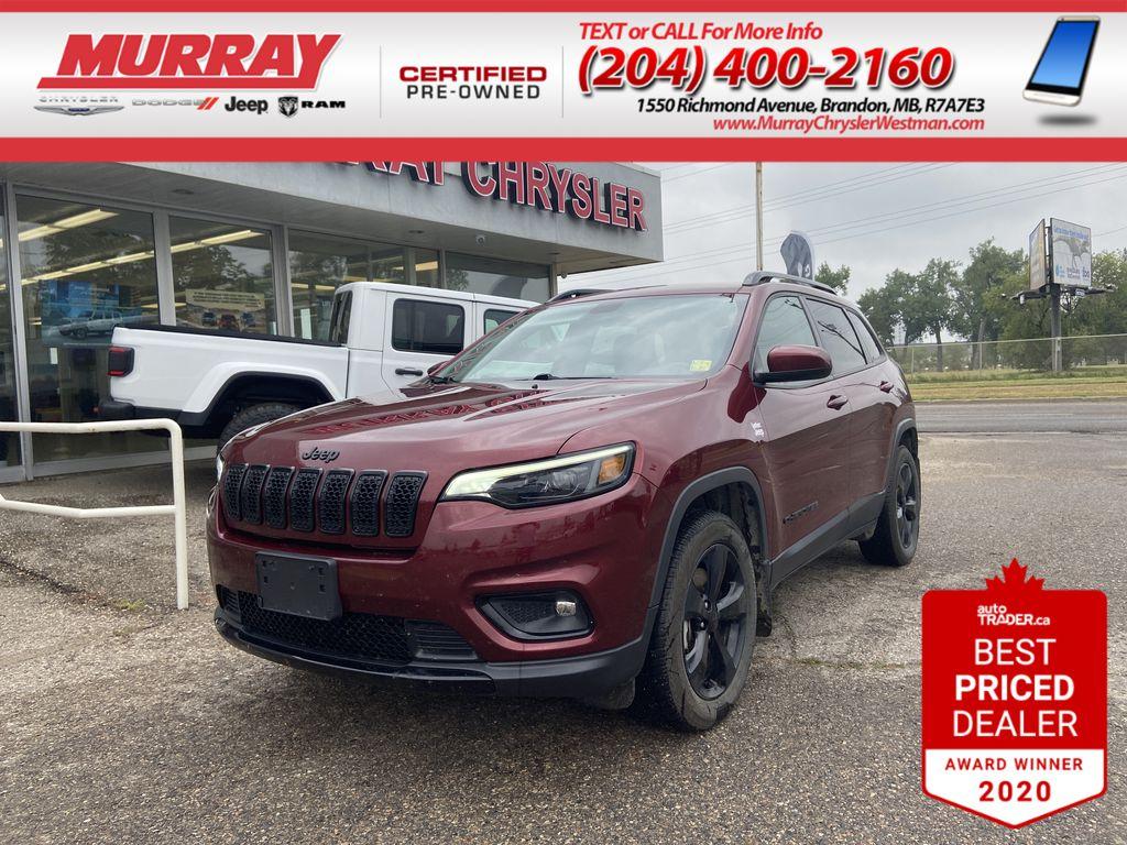 Red[Velvet Red Pearl] 2019 Jeep Cherokee