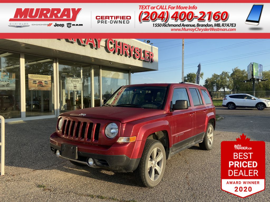 Red[Deep Cherry Red Crystal Pearl] 2017 Jeep Patriot