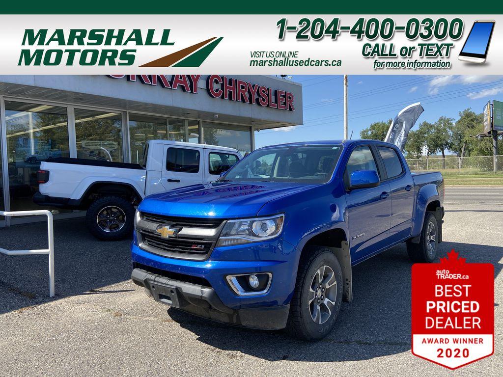 Blue[Kinetic Blue Metallic] 2019 Chevrolet Colorado