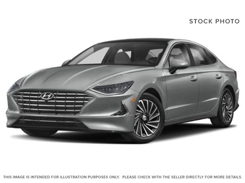 Silver[Shimmering Silver] 2022 Hyundai Sonata Hybrid