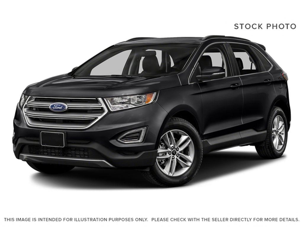 Black[Shadow Black] 2018 Ford Edge