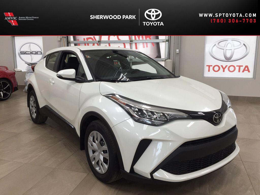 White[Blizzard Pearl] 2021 Toyota C-HR LE
