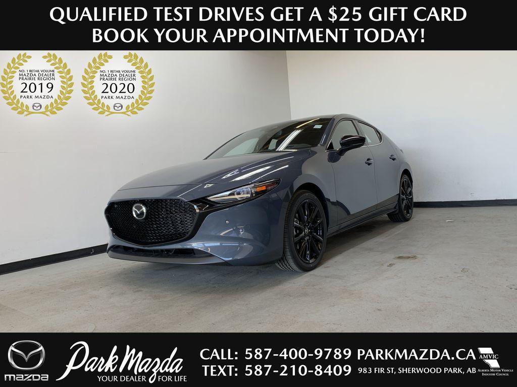 POLYMETAL GREY METALLIC(47C) 2021 Mazda Mazda3 Sport GT Turbo Premium AWD
