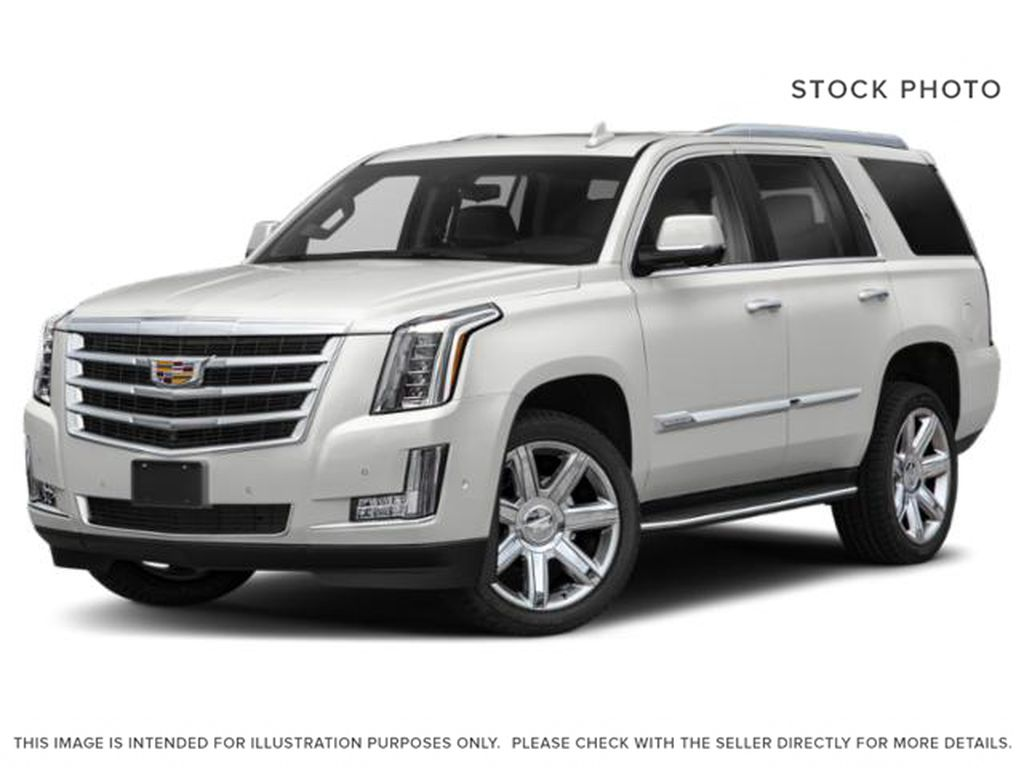 White[Crystal White Tricoat] 2019 Cadillac Escalade