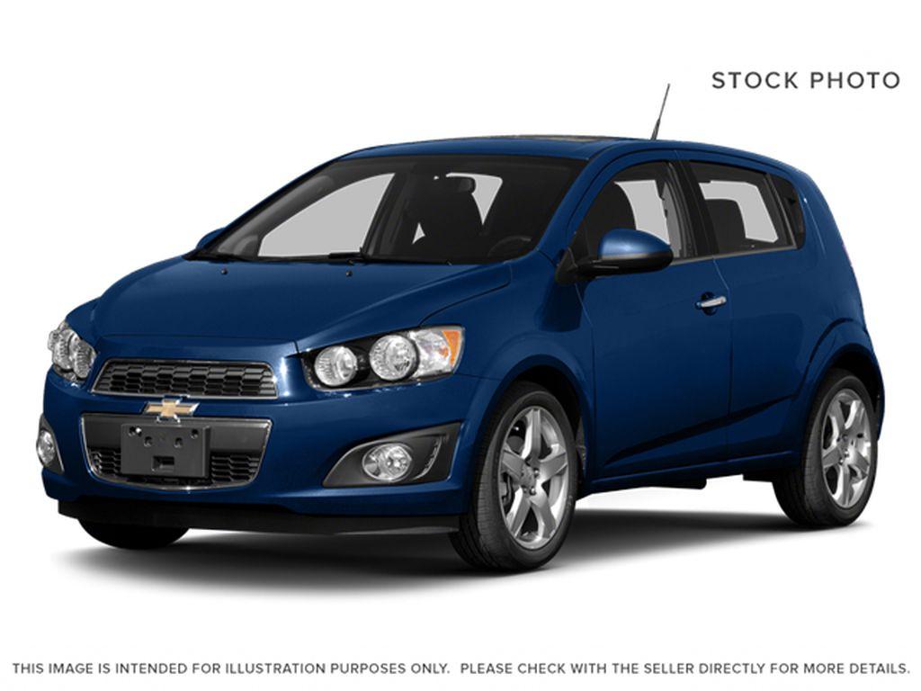 Blue[Blue Topaz Metallic] 2014 Chevrolet Sonic