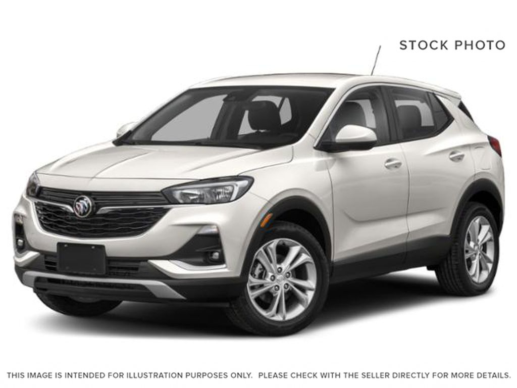 White[White Frost Tricoat] 2022 Buick Encore GX