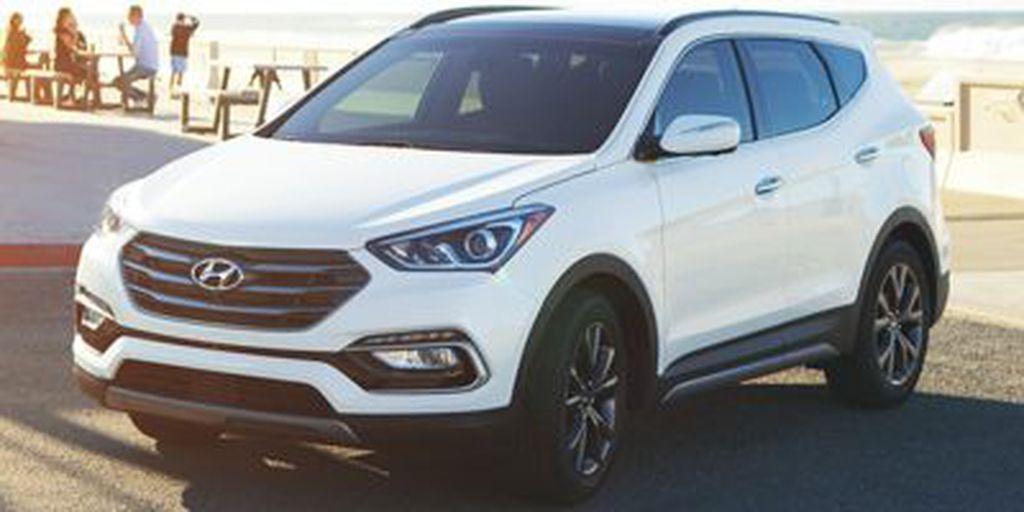White[Pearl White] 2018 Hyundai Santa Fe Sport