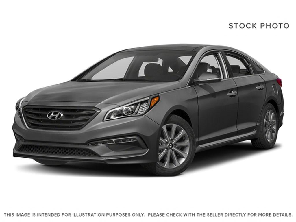 Gray[Polished Metal Metallic] 2017 Hyundai Sonata