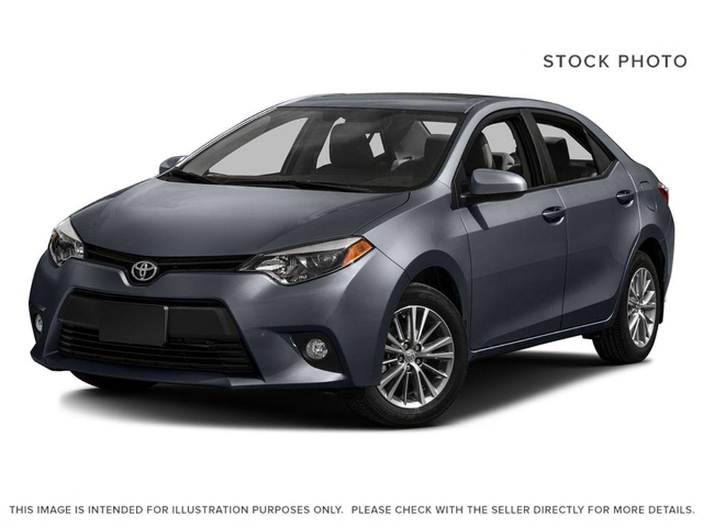 Gray[Slate Metallic] 2016 Toyota Corolla