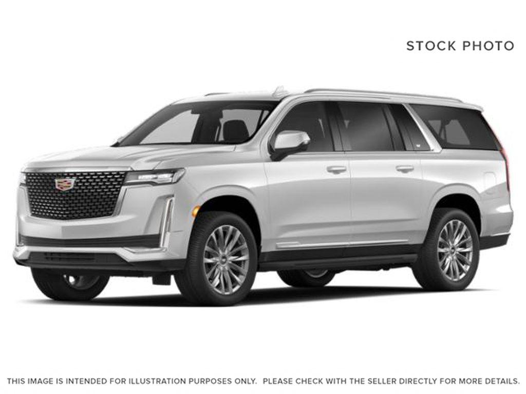 White[Crystal White Tricoat] 2021 Cadillac Escalade ESV