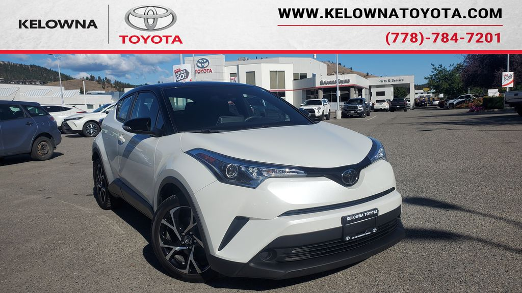 White[Blizzard Pearl with Black Roof] 2019 Toyota C-HR