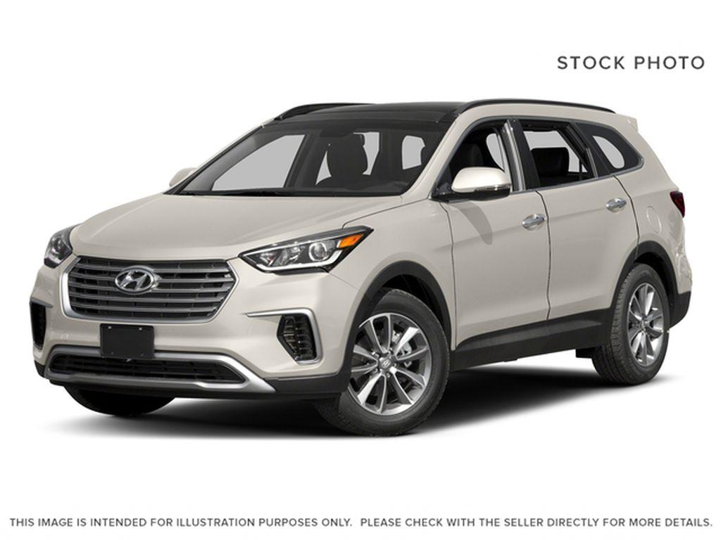 White[Monaco White] 2017 Hyundai Santa Fe XL