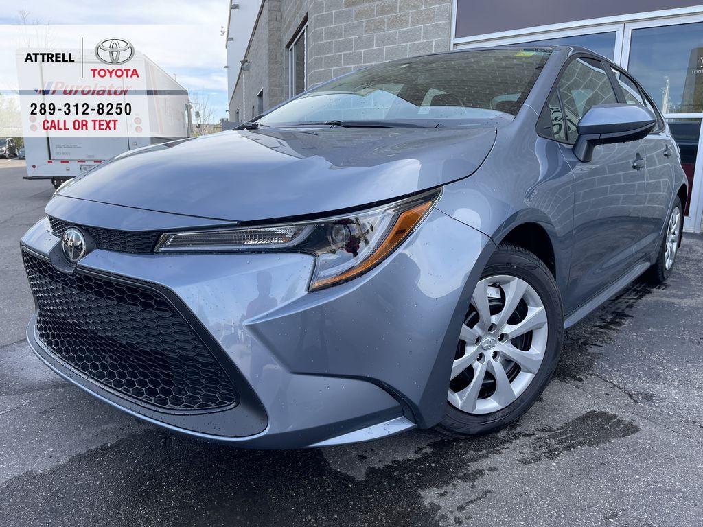 Silver[Celestite] 2022 Toyota Corolla LE Standard Package BPRBLC AM