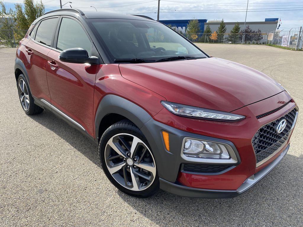 Red[Pulse Red w/Black Roof] 2018 Hyundai Kona