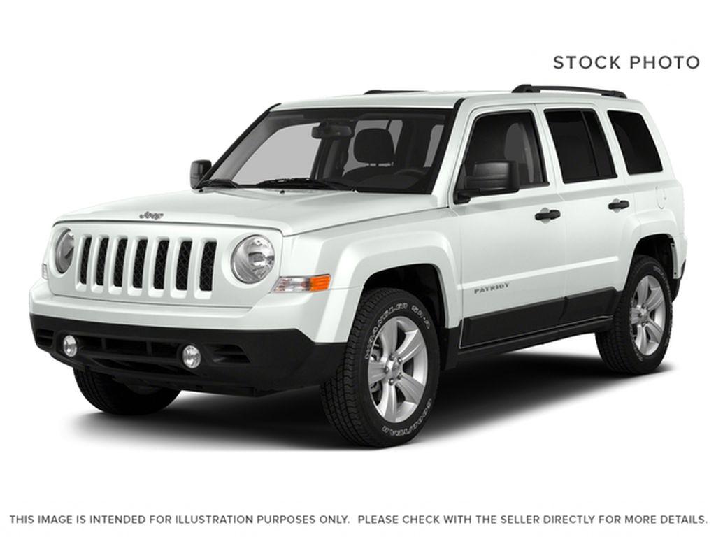 White[Bright White] 2016 Jeep Patriot