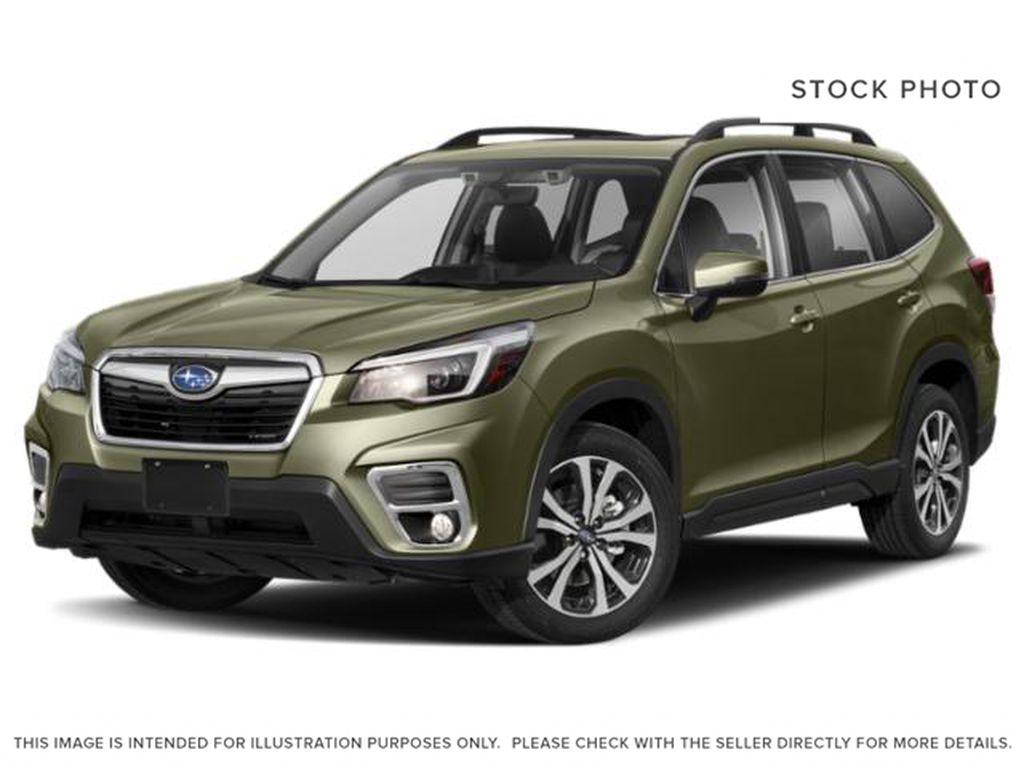 Green[Jasper Green Metallic] 2021 Subaru Forester