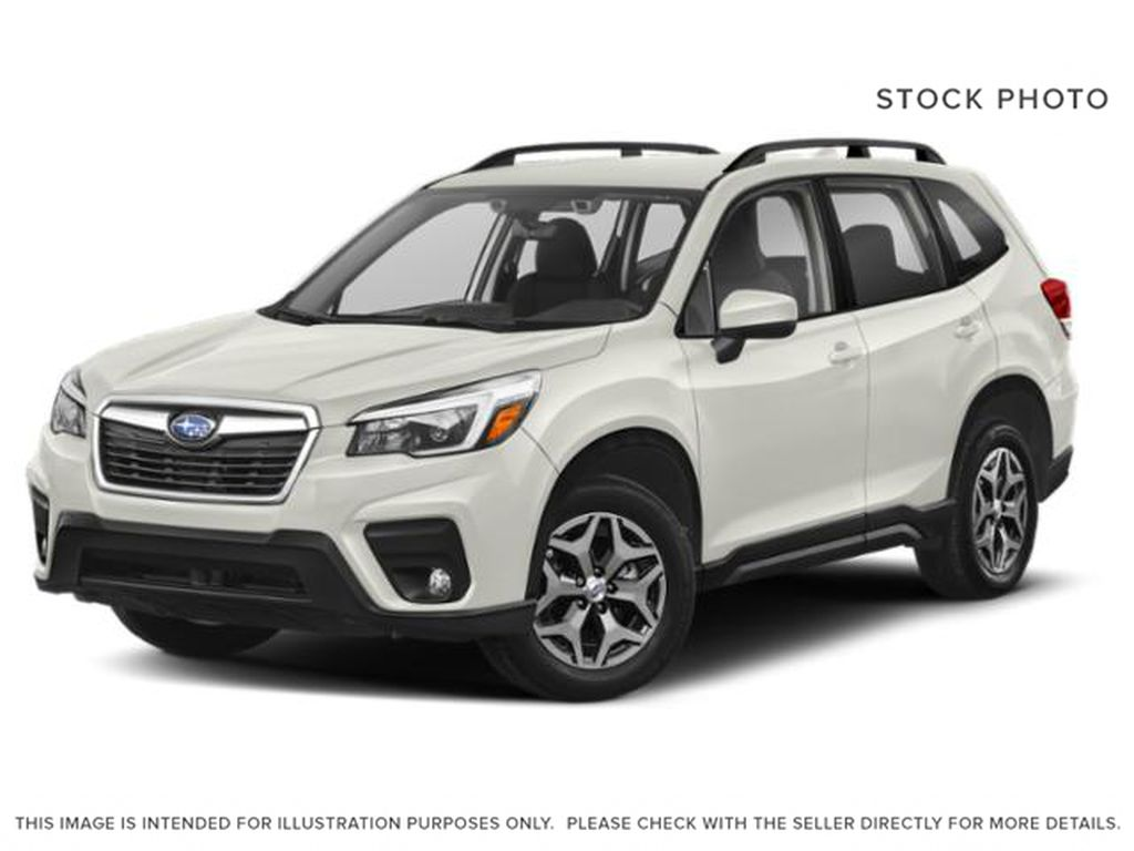 White[Crystal White Pearl] 2021 Subaru Forester
