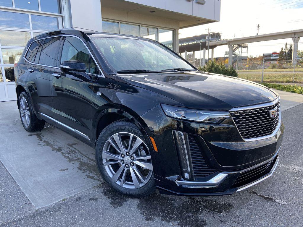 Black[Manhattan Noir Metallic] 2020 Cadillac XT6 Premium Luxury