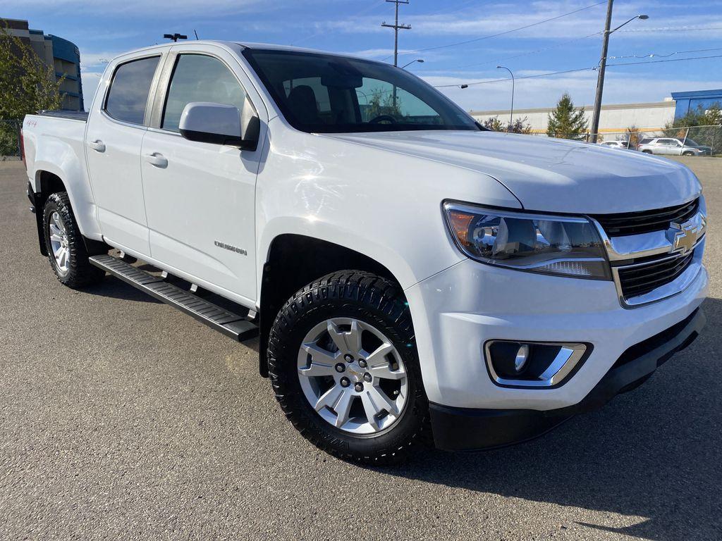 White[Summit White] 2017 Chevrolet Colorado