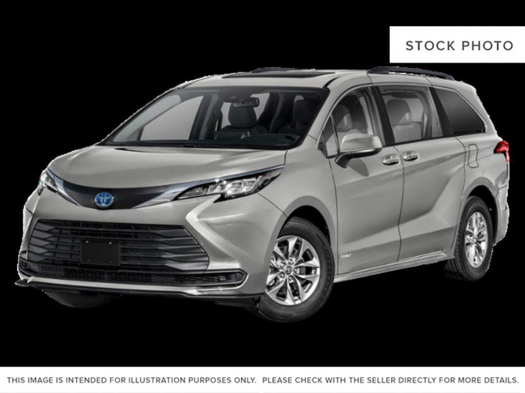 Blue[Blueprint] 2021 Toyota Sienna