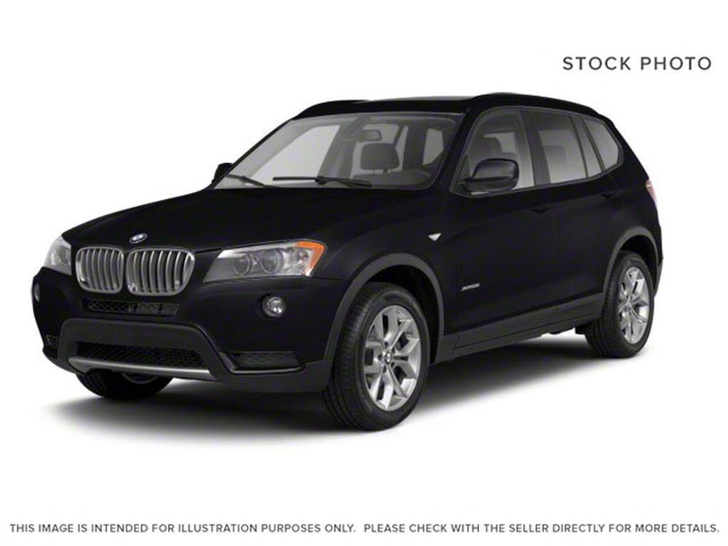 Black[Black Sapphire Metallic] 2013 BMW X3 35I XDRIVE
