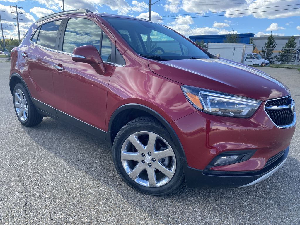 Red[Winterberry Red Metallic] 2018 Buick Encore