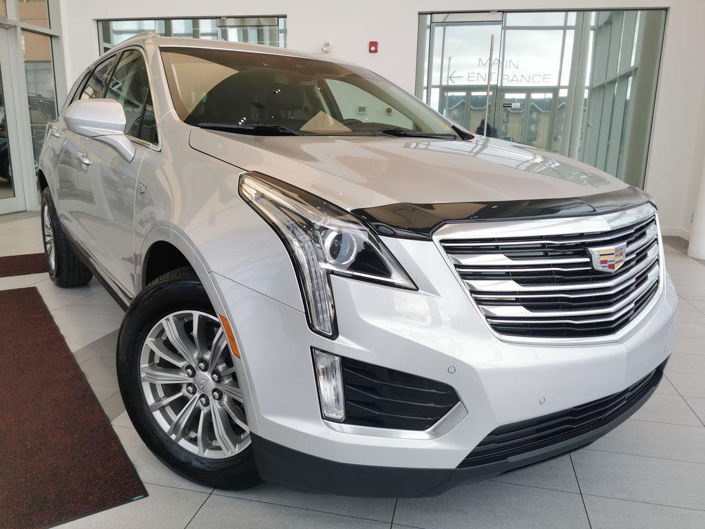 Silver[Radiant Silver Metallic] 2018 Cadillac XT5