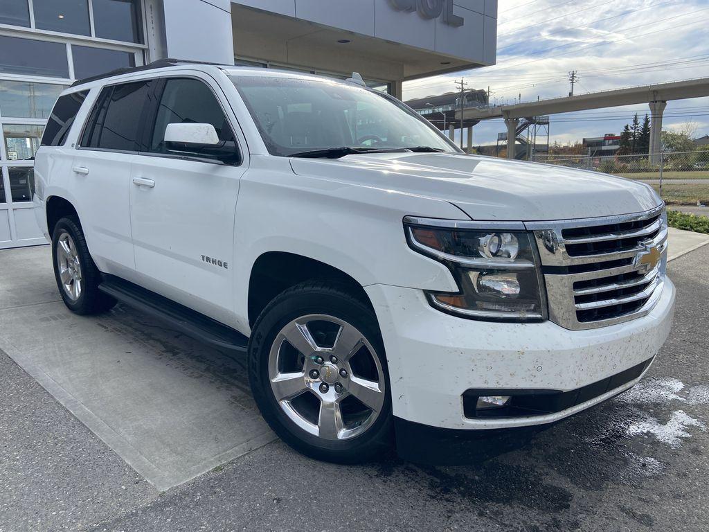 White[Summit White] 2016 Chevrolet Tahoe LT