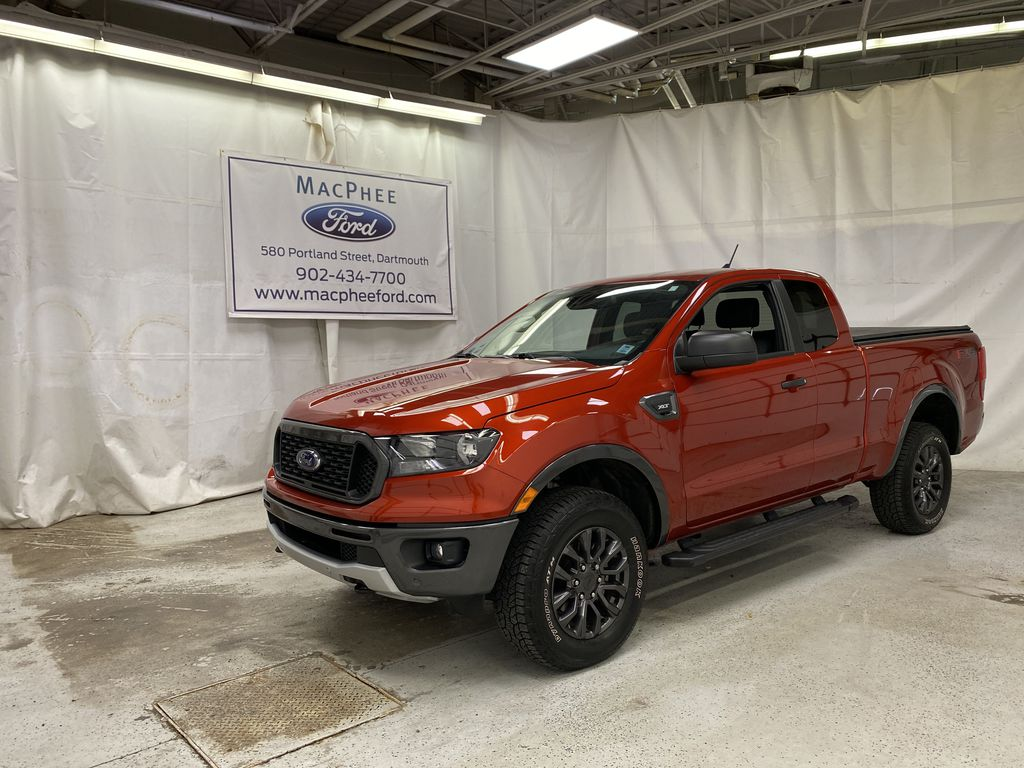 Red[Hot Pepper Red Metallic Tinted Clearcoat] 2019 Ford Ranger