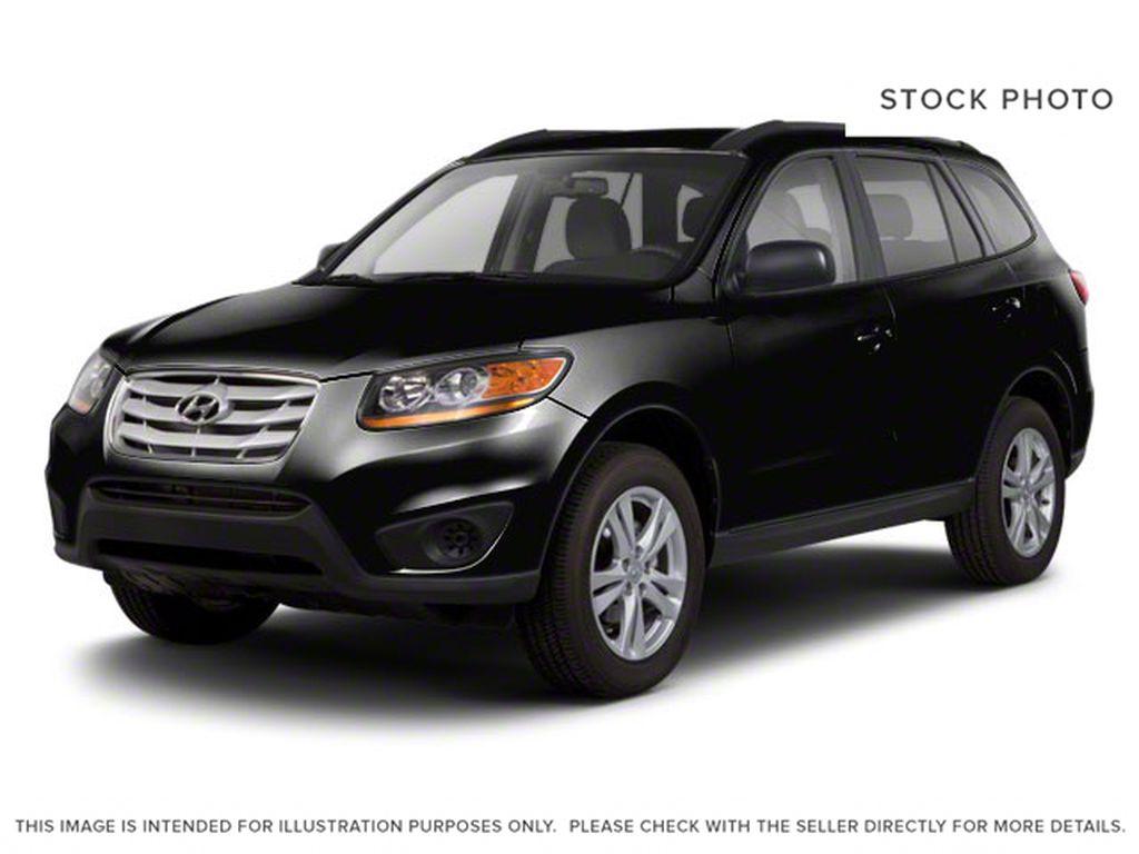 Black[Twilight Black Mica] 2012 Hyundai Santa Fe