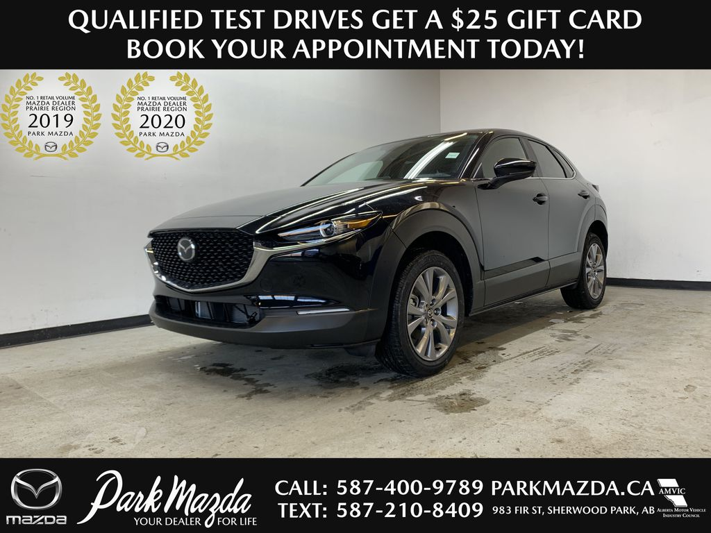 JET BLACK MICA(41W) 2021 Mazda CX-30 GS AWD