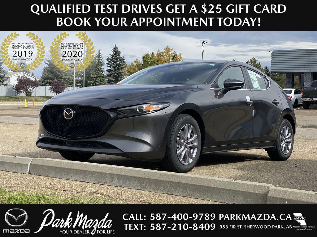 MACHINE GREY METALLIC(46G) 2021 Mazda Mazda3 Sport GS