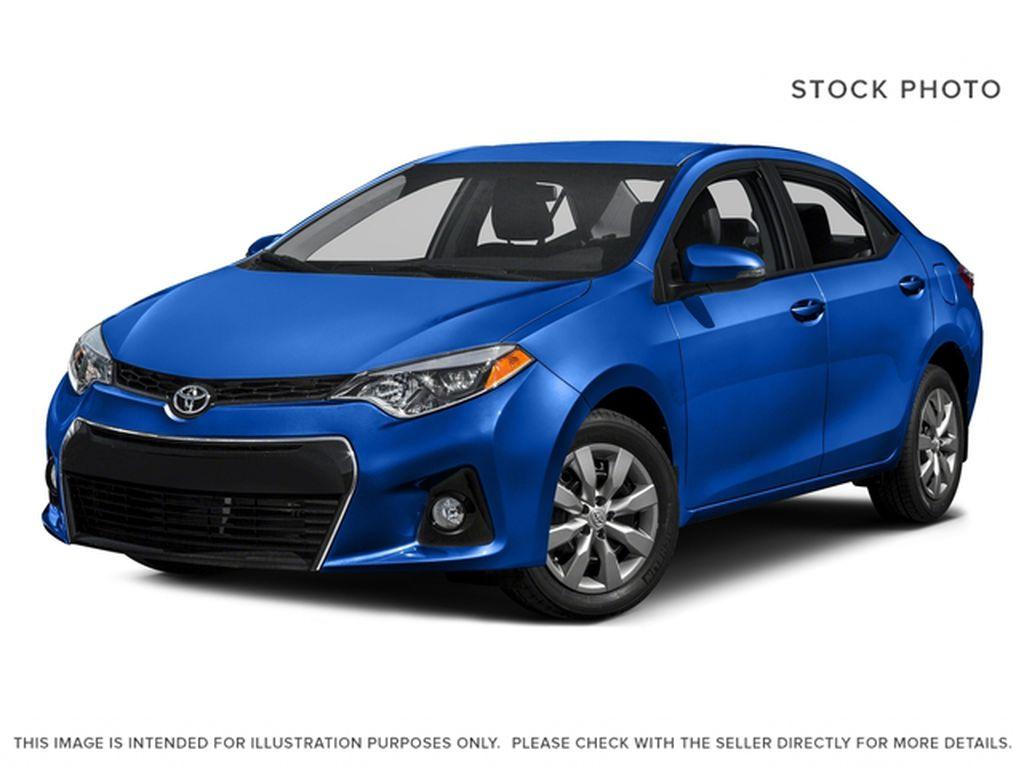 Blue[Blue Crush Metallic] 2016 Toyota Corolla