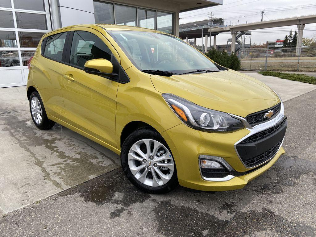 Yellow[Nitro Yellow] 2022 Chevrolet Spark LT
