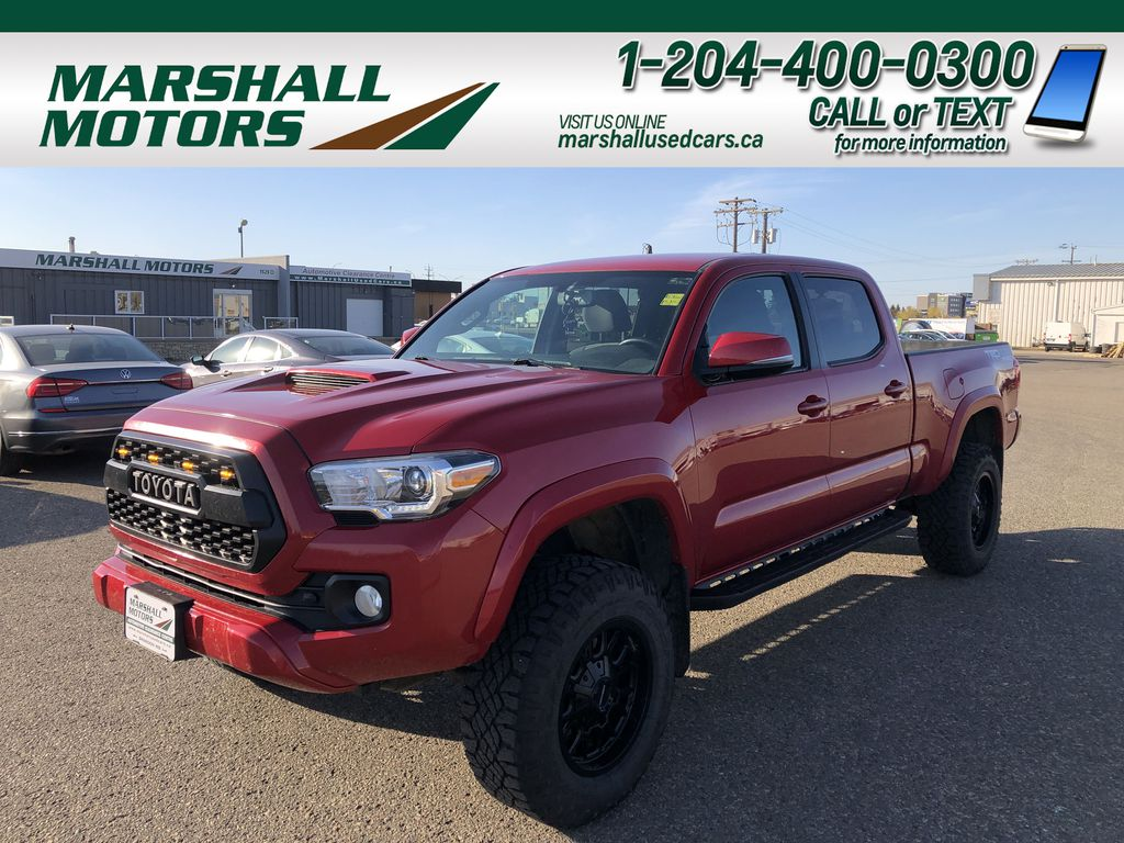 Red 2017 Toyota Tacoma TRD SPORT *Heated Seats* *Lifted*
