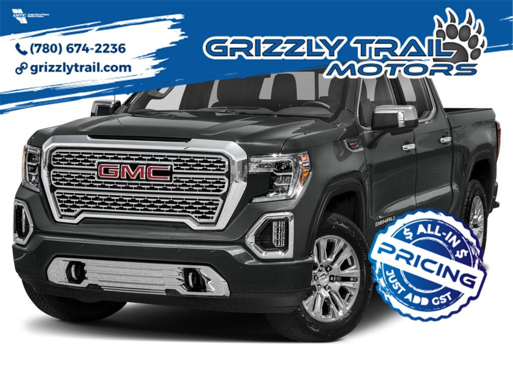 Grey 2021 GMC Sierra 1500